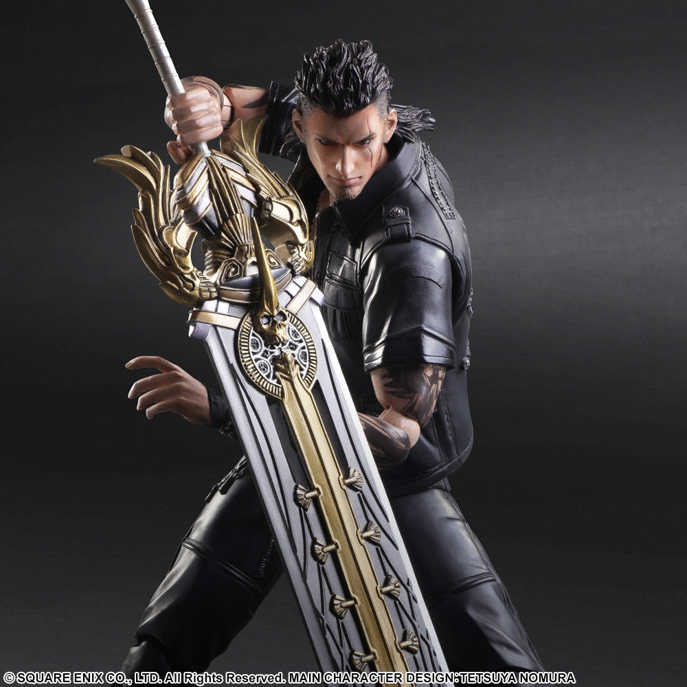 Play Arts Kai - Final Fantasy XV - Gladiolus - Marvelous Toys - 1