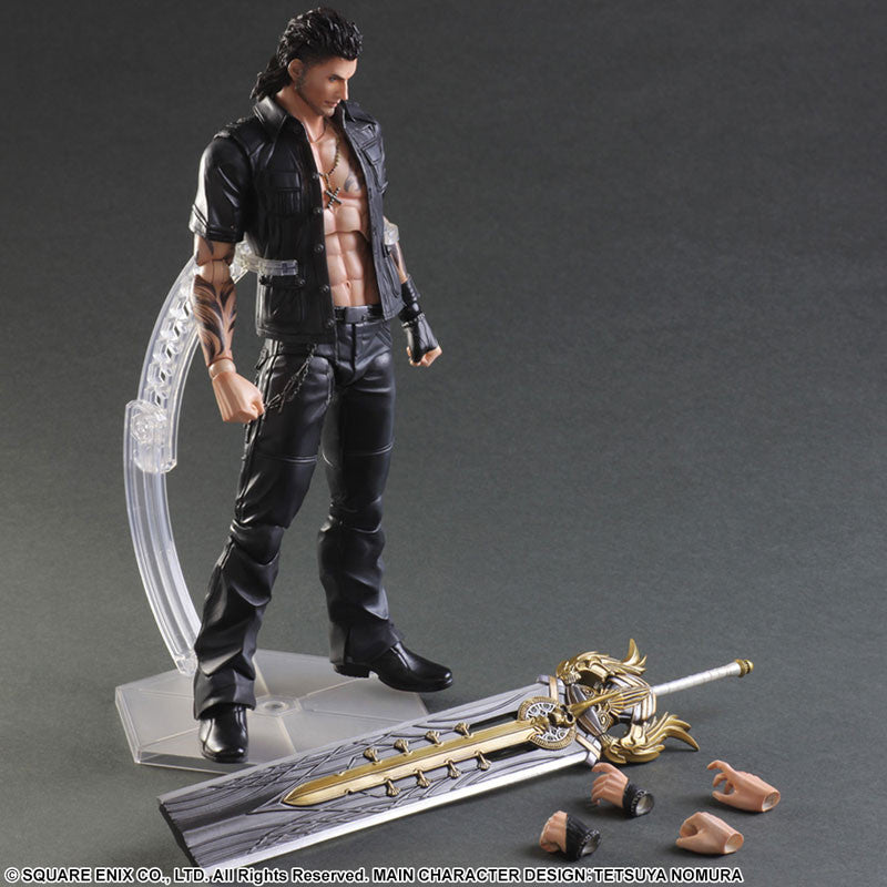 Play Arts Kai - Final Fantasy XV - Gladiolus - Marvelous Toys - 8