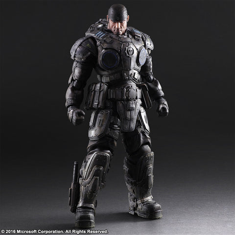 Play Arts Kai - Gears of War 3 - Marcus Fenix - Marvelous Toys - 2