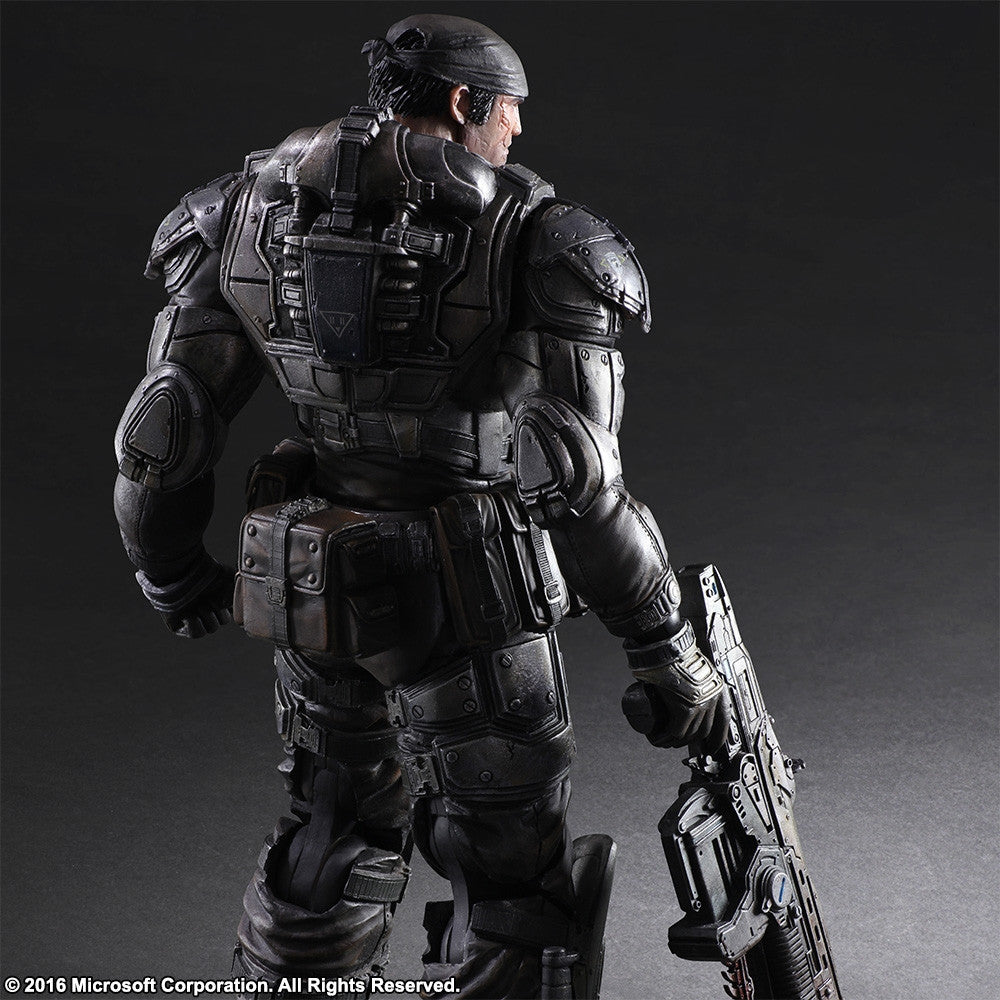 Play Arts Kai - Gears of War 3 - Marcus Fenix - Marvelous Toys - 3