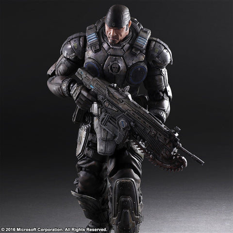 Play Arts Kai - Gears of War 3 - Marcus Fenix - Marvelous Toys - 1
