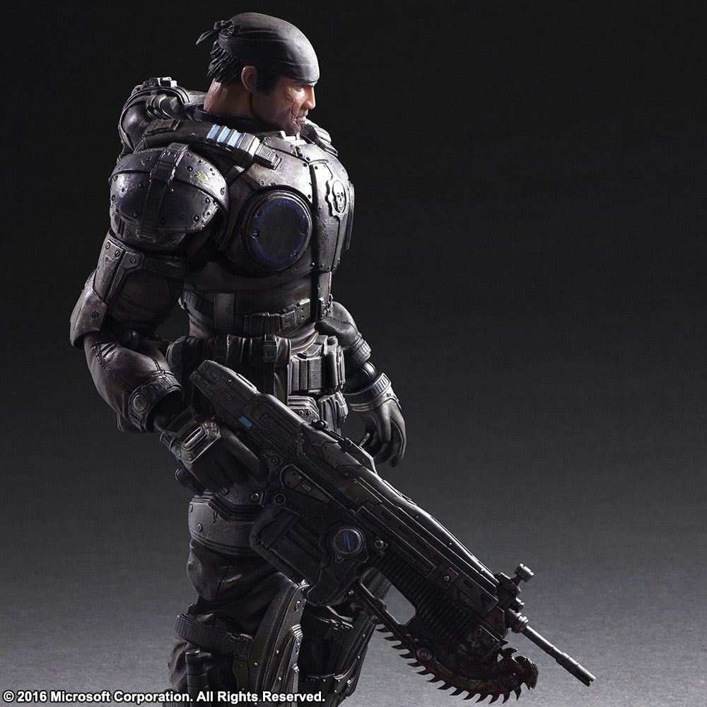 Play Arts Kai - Gears of War 3 - Marcus Fenix - Marvelous Toys - 4