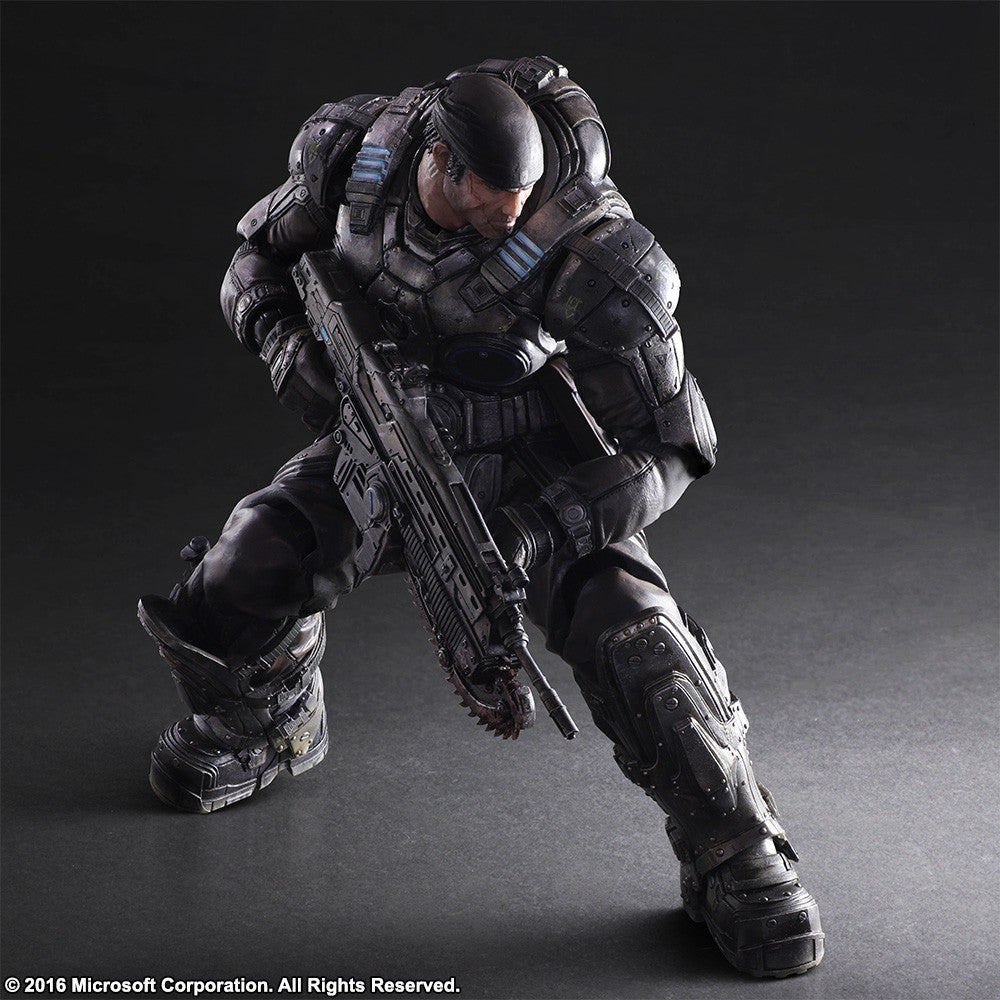 Play Arts Kai - Gears of War 3 - Marcus Fenix - Marvelous Toys - 5