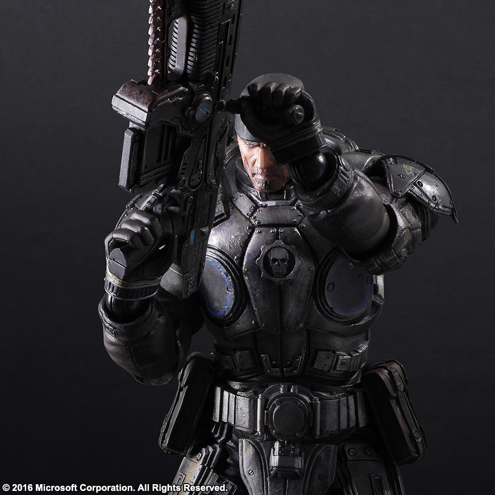 Play Arts Kai - Gears of War 3 - Marcus Fenix - Marvelous Toys - 6