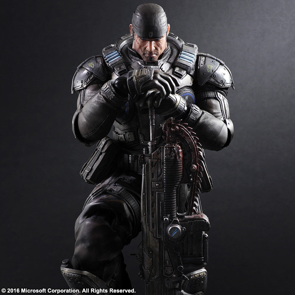 Play Arts Kai - Gears of War 3 - Marcus Fenix - Marvelous Toys - 7