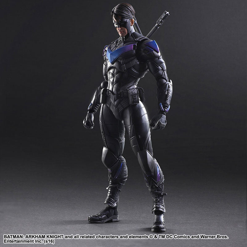 Play Arts Kai - Arkham Knight - Nightwing - Marvelous Toys - 2