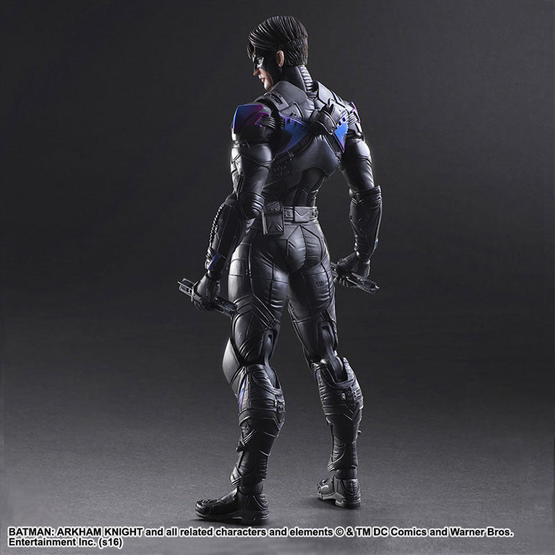 Play Arts Kai - Arkham Knight - Nightwing - Marvelous Toys - 3