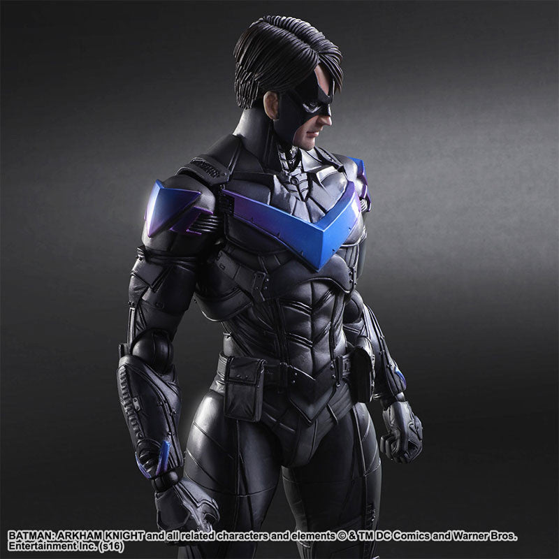 Play Arts Kai - Arkham Knight - Nightwing - Marvelous Toys - 4