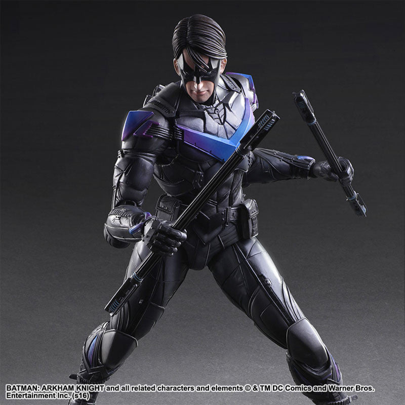 Play Arts Kai - Arkham Knight - Nightwing - Marvelous Toys - 5