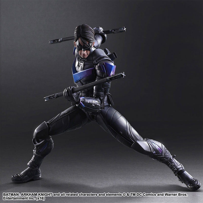 Play Arts Kai - Arkham Knight - Nightwing - Marvelous Toys - 1