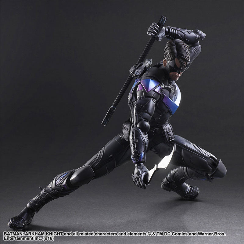 Play Arts Kai - Arkham Knight - Nightwing - Marvelous Toys - 6