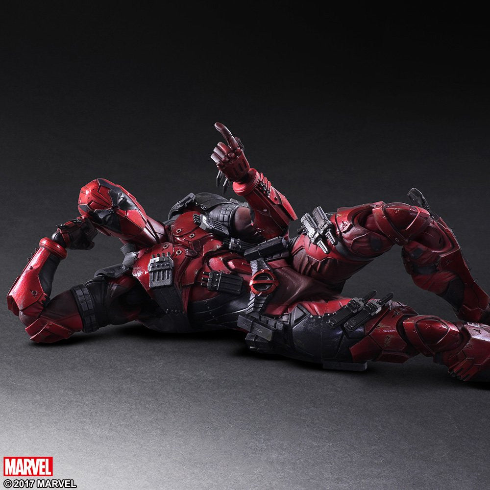 Play Arts Kai - Marvel Universe Variant - Deadpool - Marvelous Toys - 4