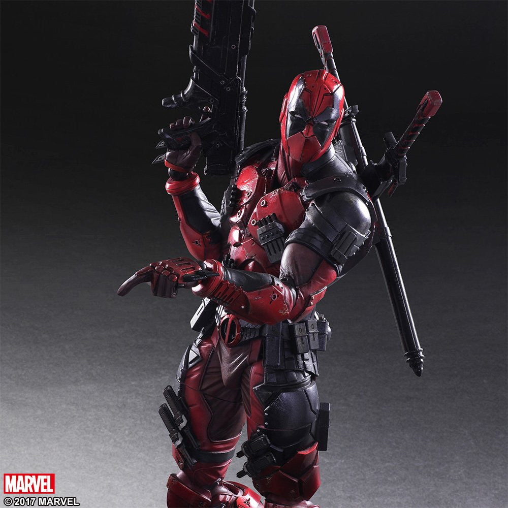 Play Arts Kai - Marvel Universe Variant - Deadpool - Marvelous Toys - 5