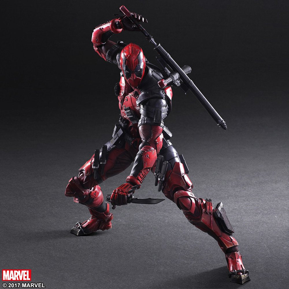 Play Arts Kai - Marvel Universe Variant - Deadpool - Marvelous Toys - 6