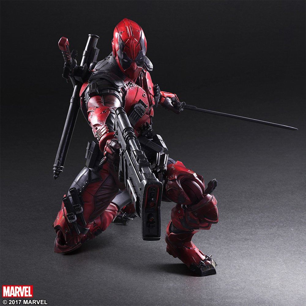 Play Arts Kai - Marvel Universe Variant - Deadpool - Marvelous Toys - 7