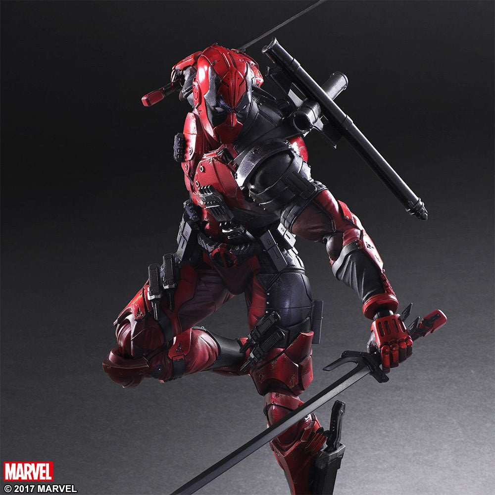 Play Arts Kai - Marvel Universe Variant - Deadpool - Marvelous Toys - 8