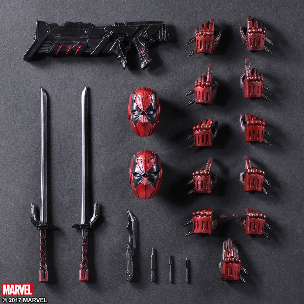 Play Arts Kai - Marvel Universe Variant - Deadpool - Marvelous Toys - 9