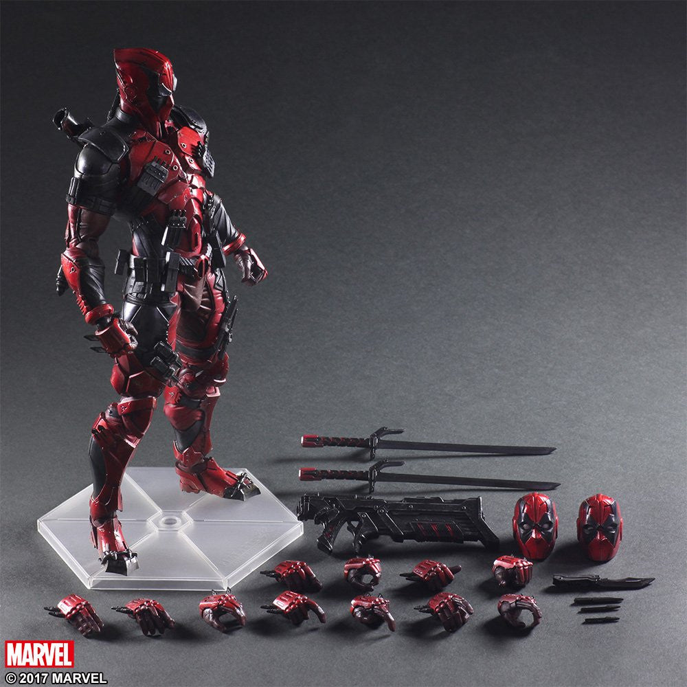 Play Arts Kai - Marvel Universe Variant - Deadpool - Marvelous Toys - 10