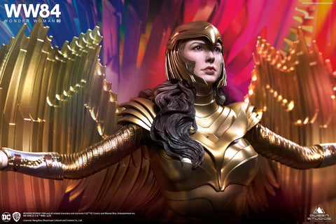 Queen Studios - Wonder Woman 1984 - Wonder Woman (Golden Armor) (1/4 Scale)