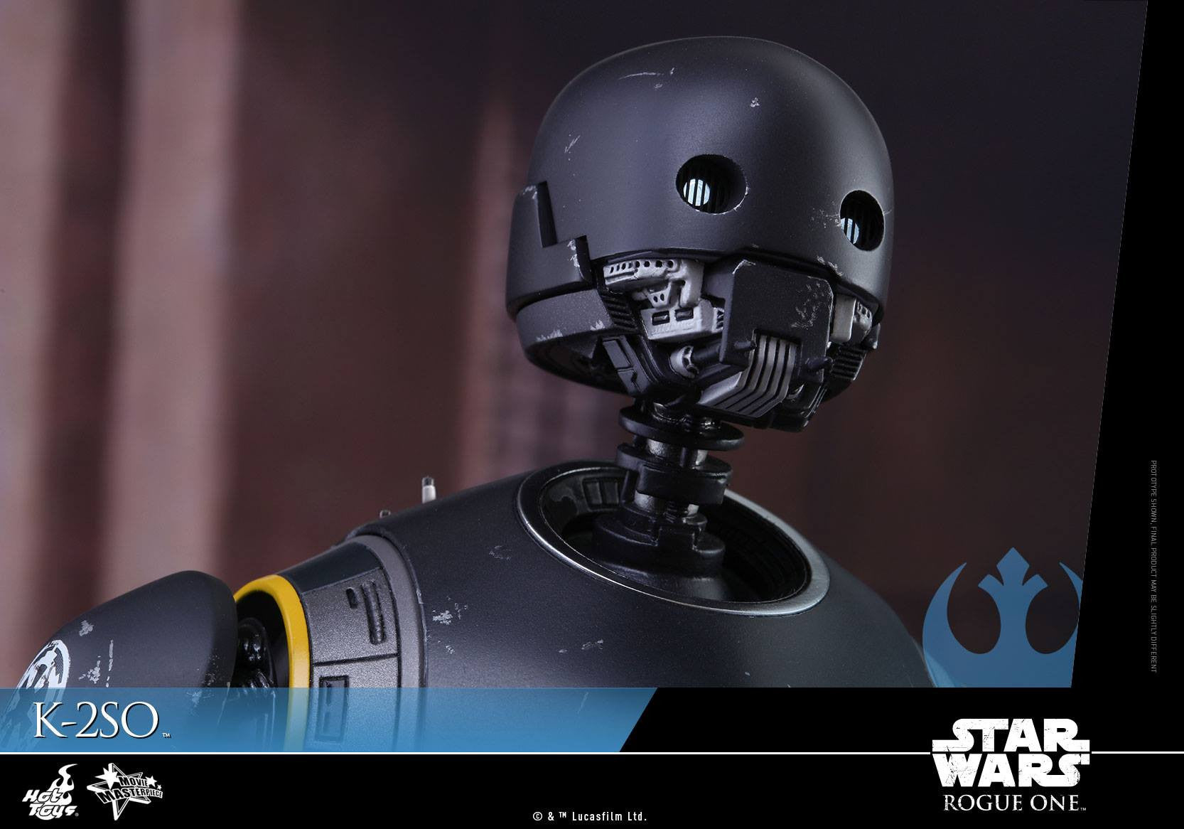 Hot Toys - MMS406 - Rogue One: A Star Wars Story - K-2SO - Marvelous Toys - 3