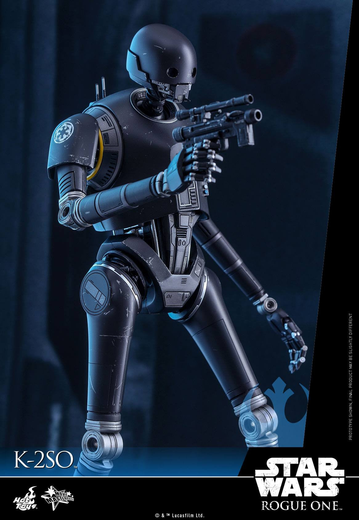 Hot Toys - MMS406 - Rogue One: A Star Wars Story - K-2SO - Marvelous Toys - 4