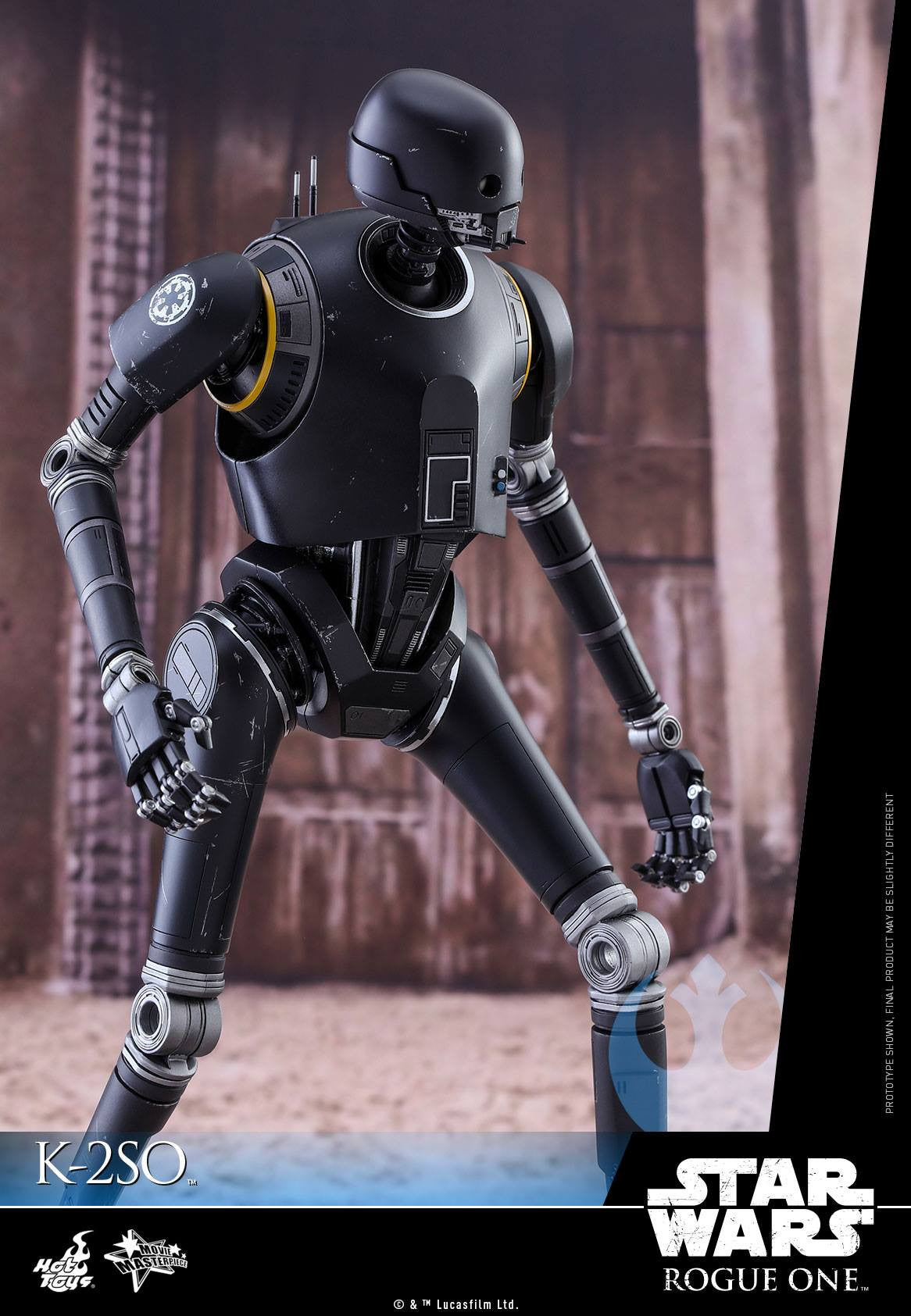 Hot Toys - MMS406 - Rogue One: A Star Wars Story - K-2SO - Marvelous Toys - 6