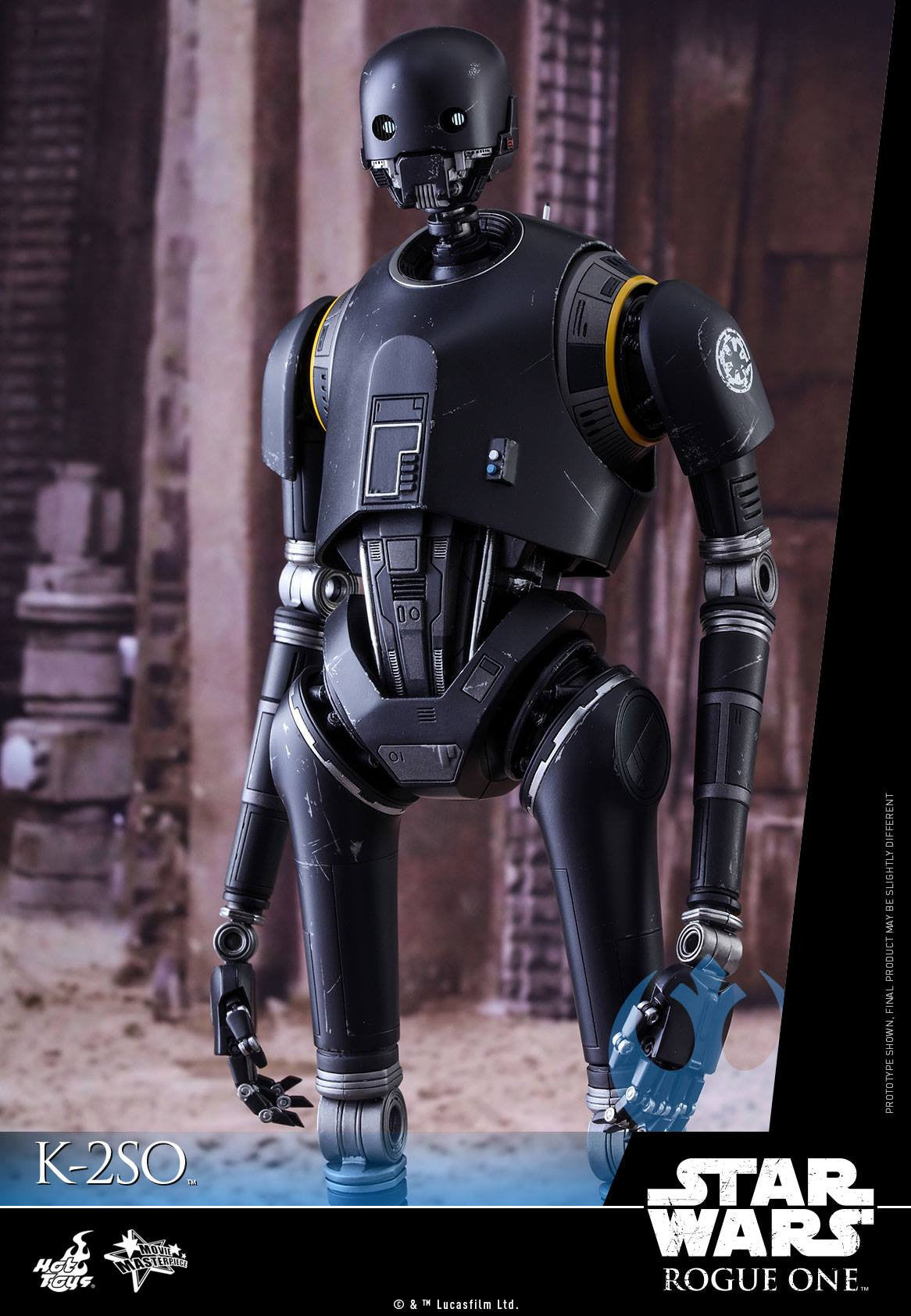 Hot Toys - MMS406 - Rogue One: A Star Wars Story - K-2SO - Marvelous Toys - 7