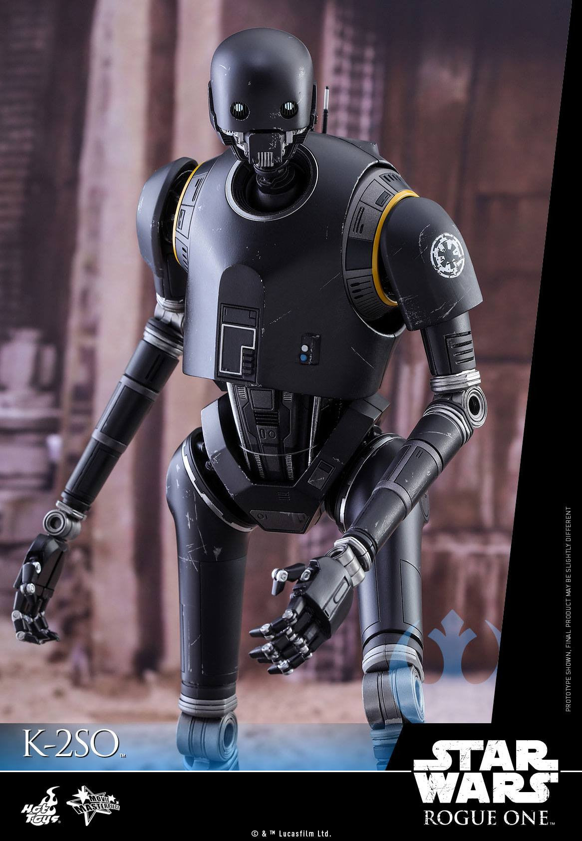 Hot Toys - MMS406 - Rogue One: A Star Wars Story - K-2SO - Marvelous Toys - 8