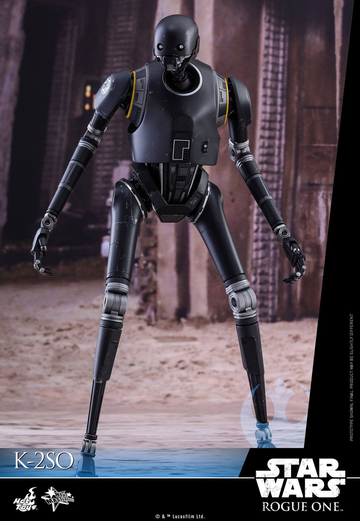 Hot Toys - MMS406 - Rogue One: A Star Wars Story - K-2SO - Marvelous Toys - 9