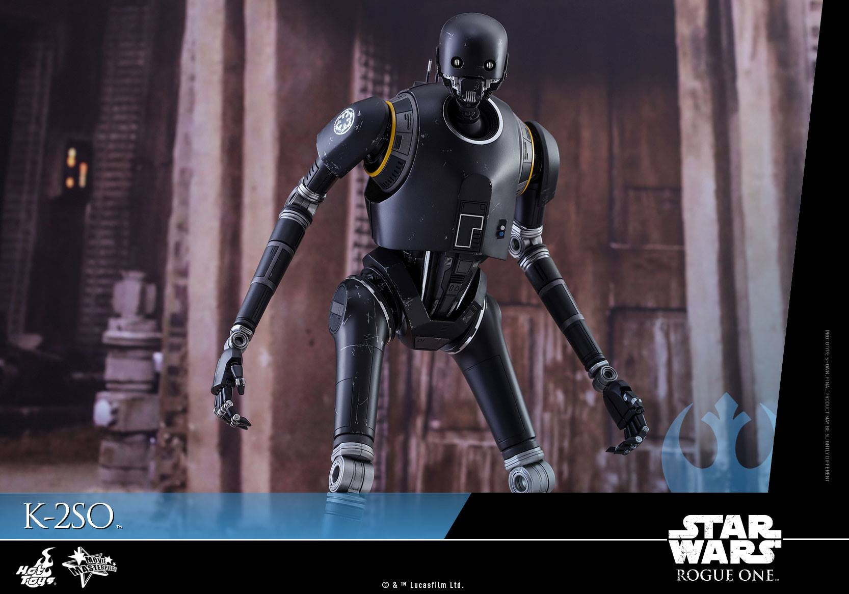 Hot Toys - MMS406 - Rogue One: A Star Wars Story - K-2SO - Marvelous Toys - 12