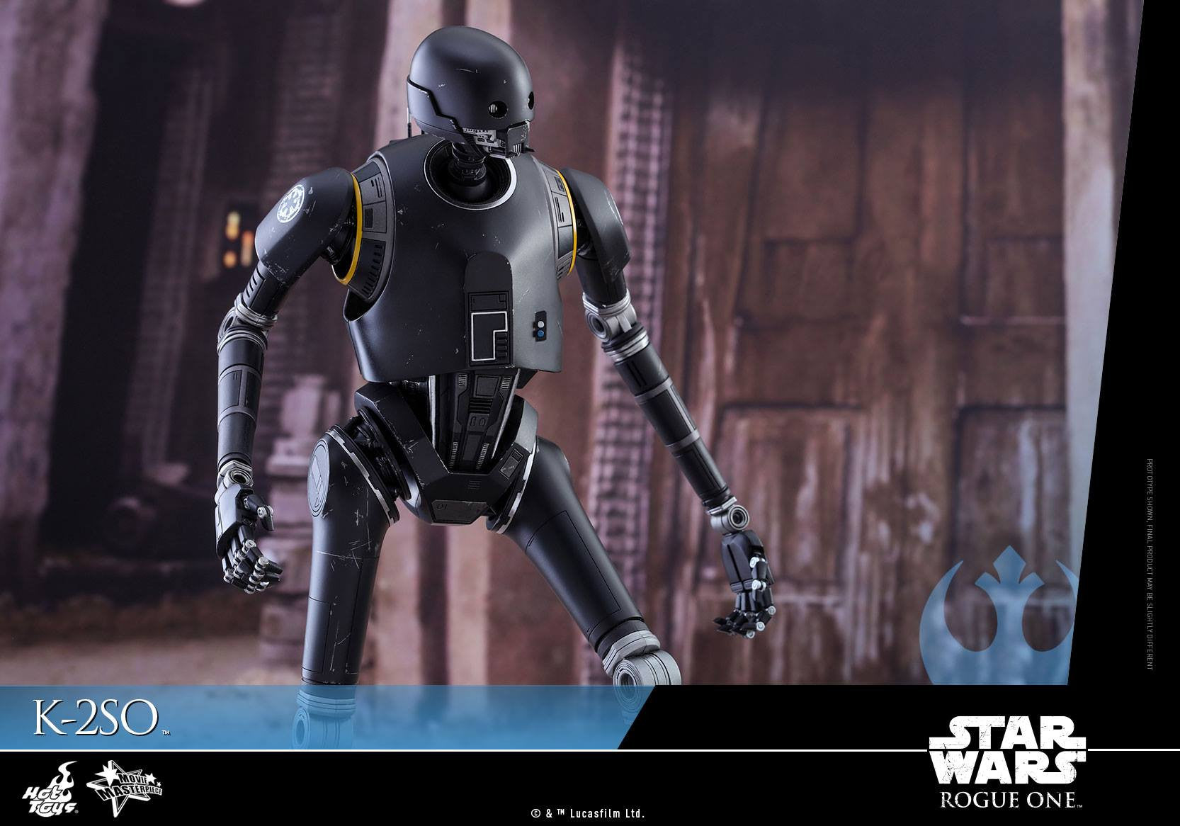 Hot Toys - MMS406 - Rogue One: A Star Wars Story - K-2SO - Marvelous Toys - 13
