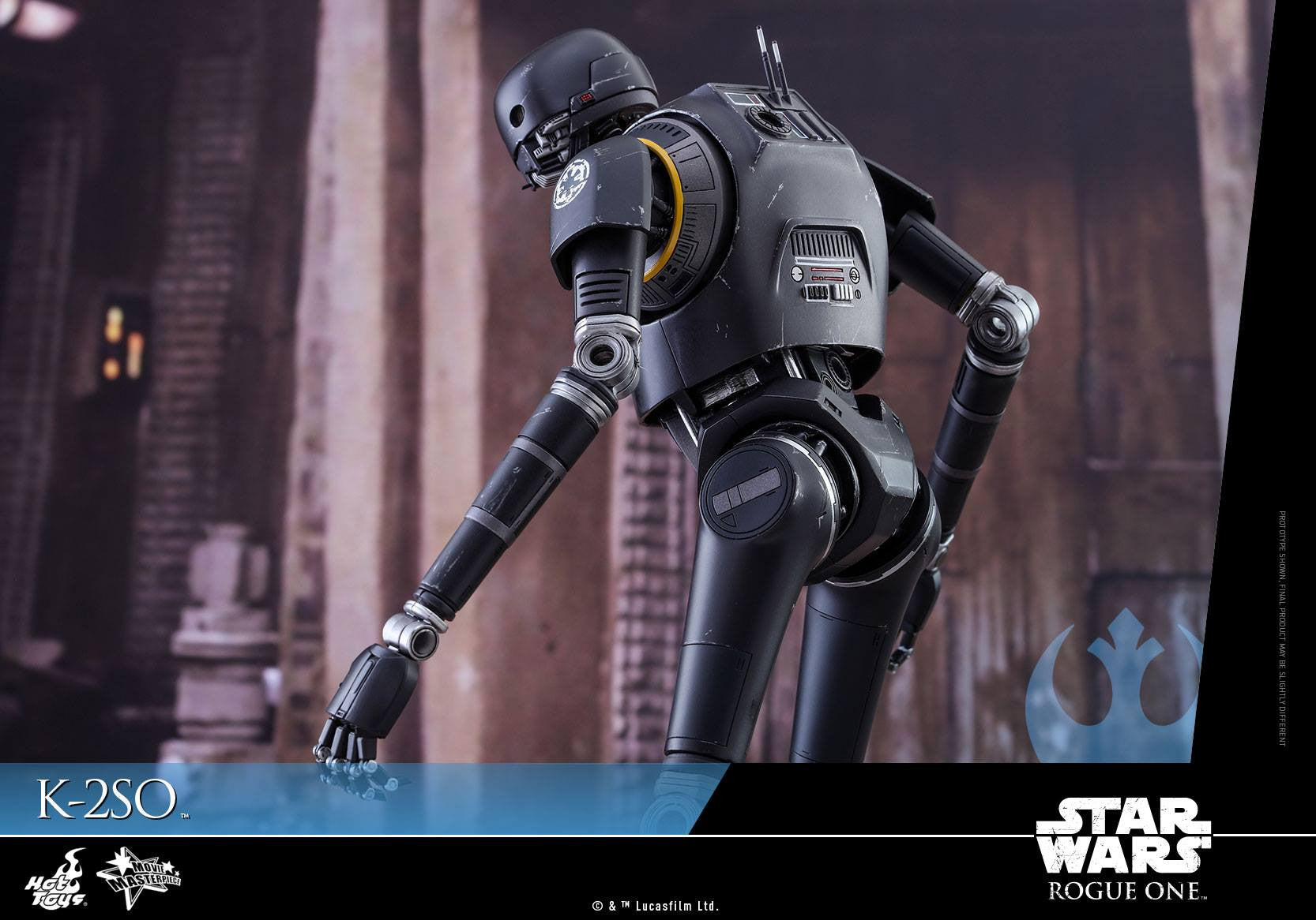 Hot Toys - MMS406 - Rogue One: A Star Wars Story - K-2SO - Marvelous Toys - 14