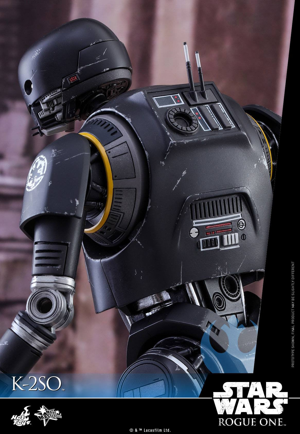Hot Toys - MMS406 - Rogue One: A Star Wars Story - K-2SO - Marvelous Toys - 16