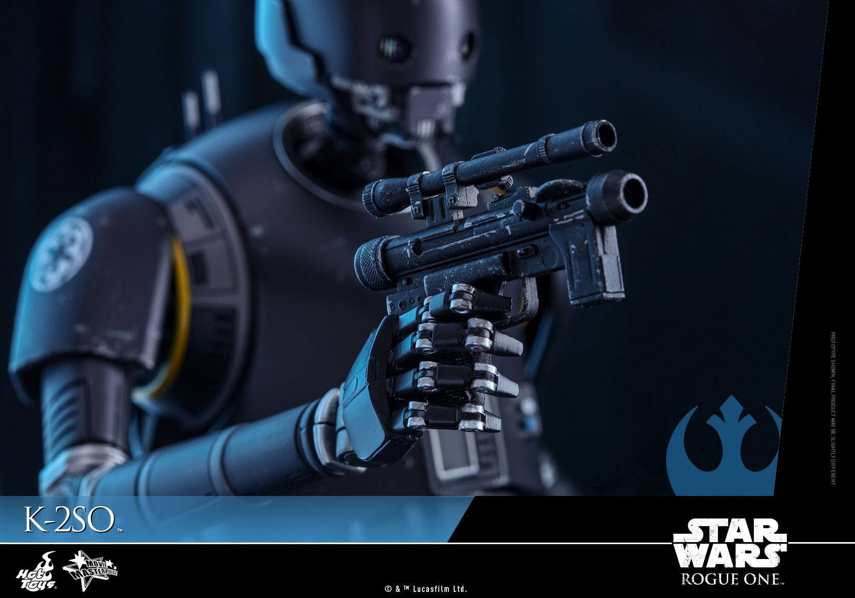 Hot Toys - MMS406 - Rogue One: A Star Wars Story - K-2SO - Marvelous Toys - 17