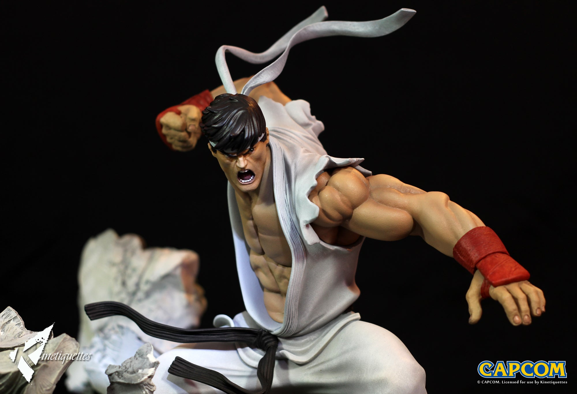 Kinetiquettes - Battle of the Brothers - Street Fighter - Ryu 1/6 Scale Diorama