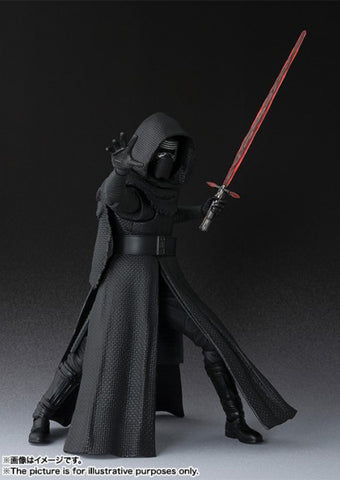 (IN STOCK) Kylo Ren - Star Wars: The Force Awakens - S.H. Figuarts - Marvelous Toys - 1