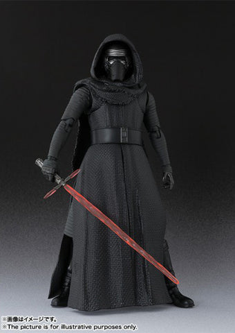 (IN STOCK) Kylo Ren - Star Wars: The Force Awakens - S.H. Figuarts - Marvelous Toys - 2