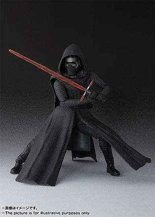 (IN STOCK) Kylo Ren - Star Wars: The Force Awakens - S.H. Figuarts - Marvelous Toys - 3