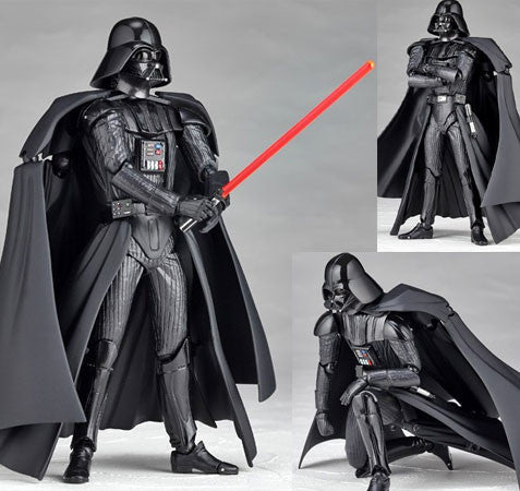(IN STOCK) Darth Vader - Star Wars - Revoltech Kaiyodo - Marvelous Toys - 3