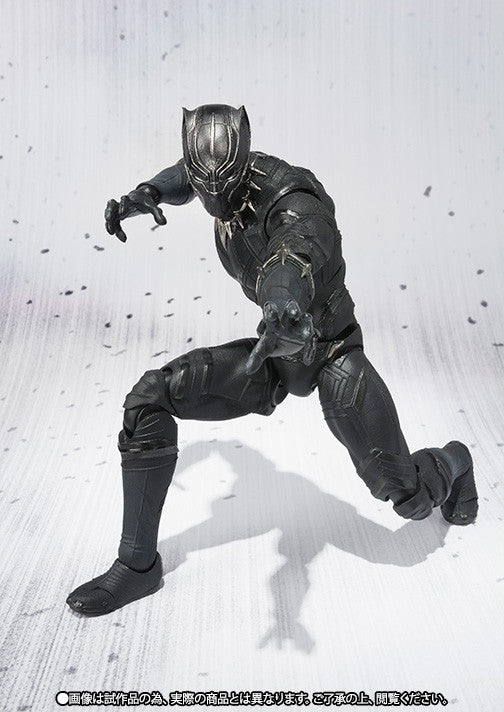 S.H.Figuarts - Captain America: Civil War - Black Panther - Marvelous Toys - 3