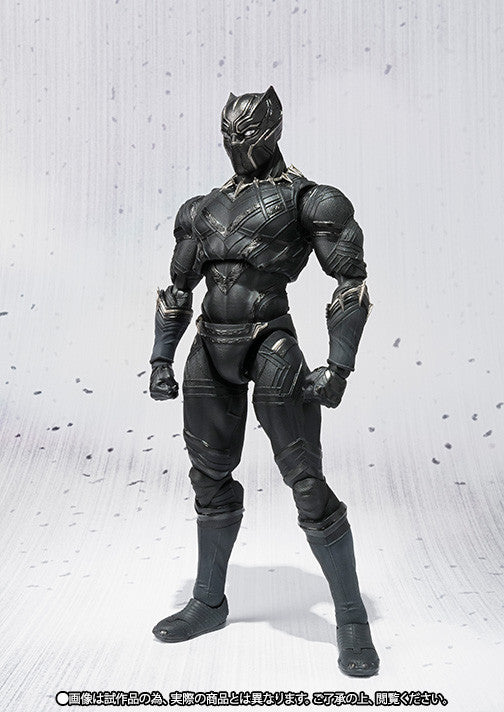 S.H.Figuarts - Captain America: Civil War - Black Panther - Marvelous Toys - 4