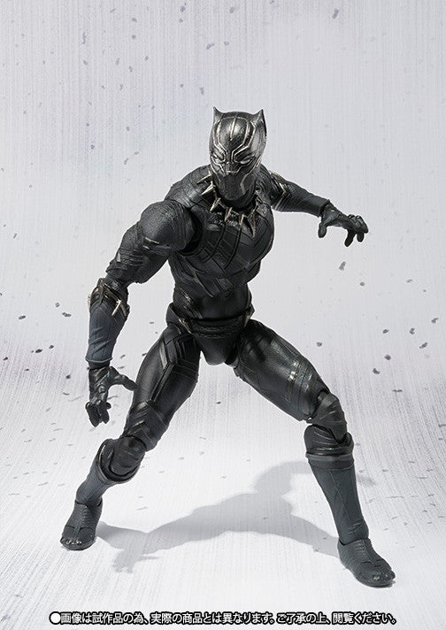 S.H.Figuarts - Captain America: Civil War - Black Panther - Marvelous Toys - 5
