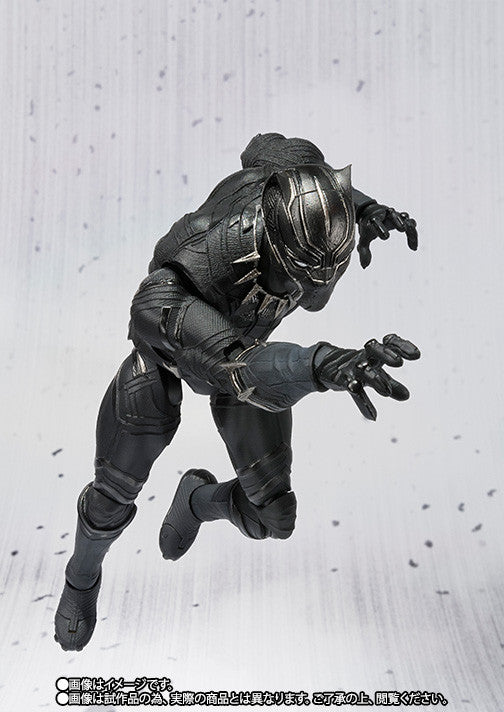 S.H.Figuarts - Captain America: Civil War - Black Panther - Marvelous Toys - 2