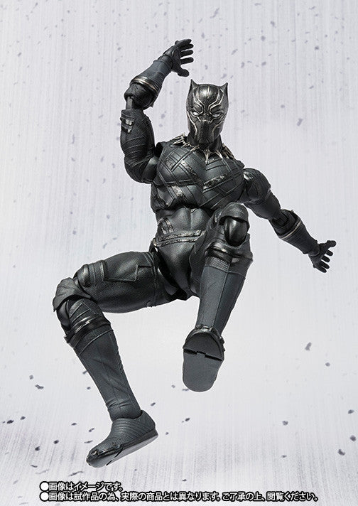 S.H.Figuarts - Captain America: Civil War - Black Panther - Marvelous Toys - 7