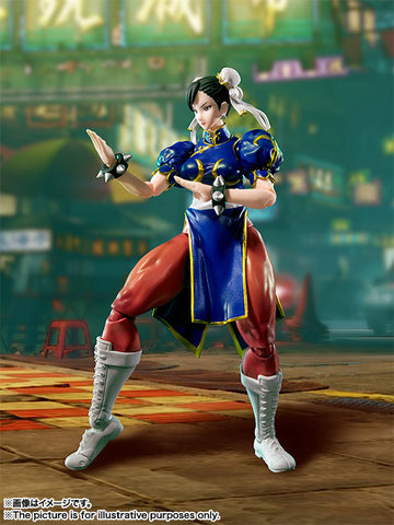S.H.Figuarts - Street Fighter - Chun Li - Marvelous Toys - 2