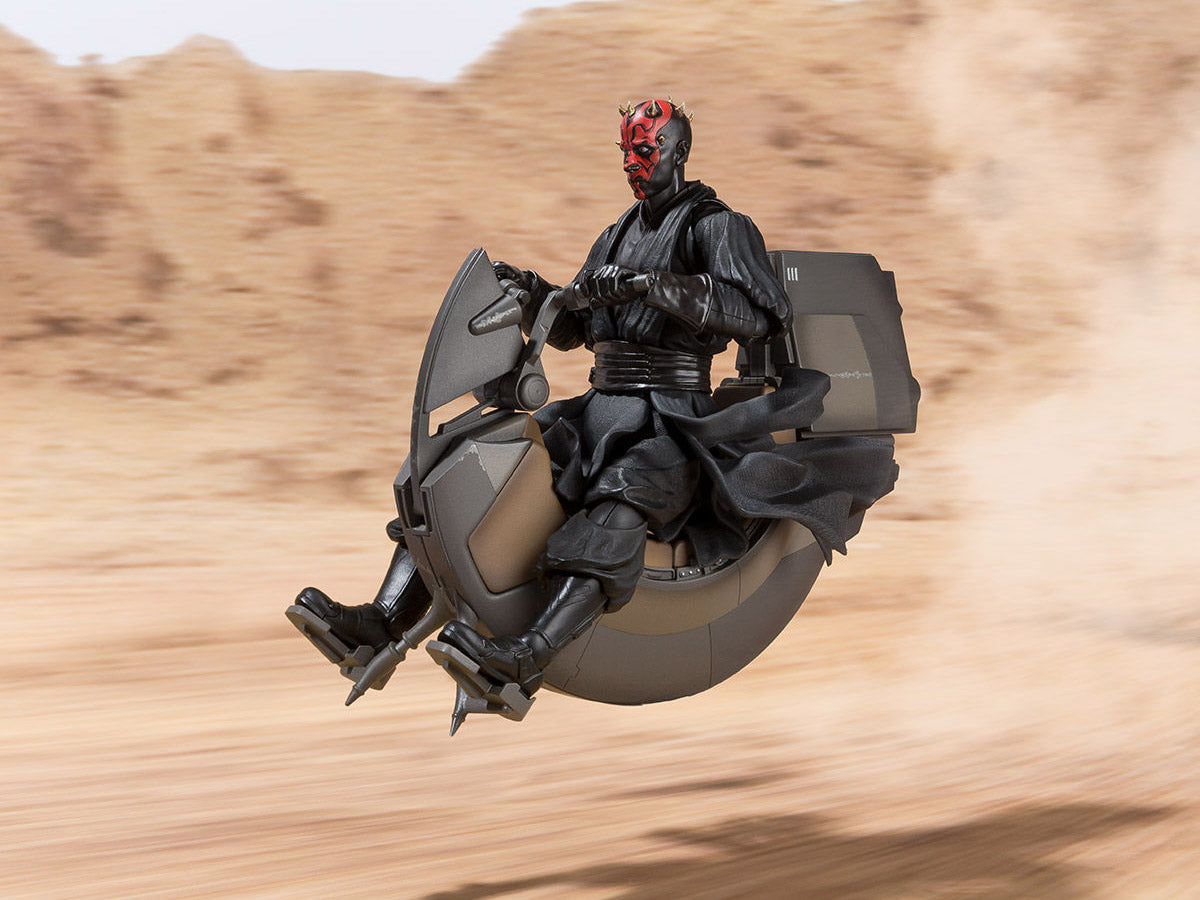 S.H.Figuarts - Star Wars: The Phantom Menance - Darth Maul's Bloodfin Sith Speeder (TamashiiWeb Exclusive)