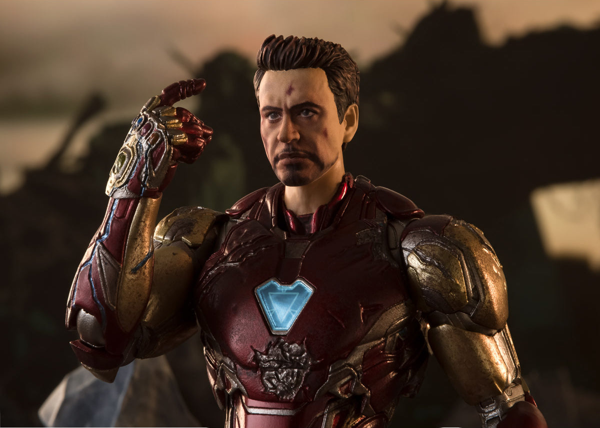 S.H.Figuarts - Avengers: Endgame - Iron Man Mark 85 [I AM IRON MAN] Edition (TamashiiWeb Exclusive)