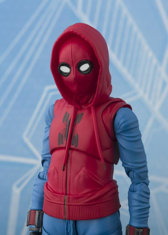 S.H.Figuarts - Spider-Man: Homecoming - Spider-Man (Homemade Suit Ver.) and Wall (TamashiiWeb Exclusive)
