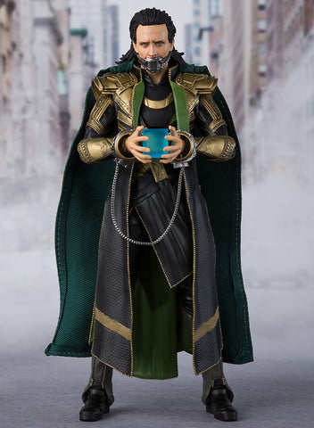 S.H.Figuarts - The Avengers - Loki (TamashiiWeb Exclusive)
