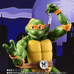 (IN STOCK) S.H.Figuarts - Teenage Mutant Ninja Turtles - Michelangelo (Tamashii Web Exclusive) - Marvelous Toys - 2